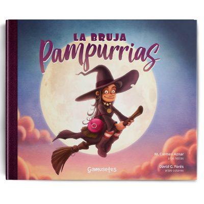 La Bruja Pampurrias un cuento halloween divetido