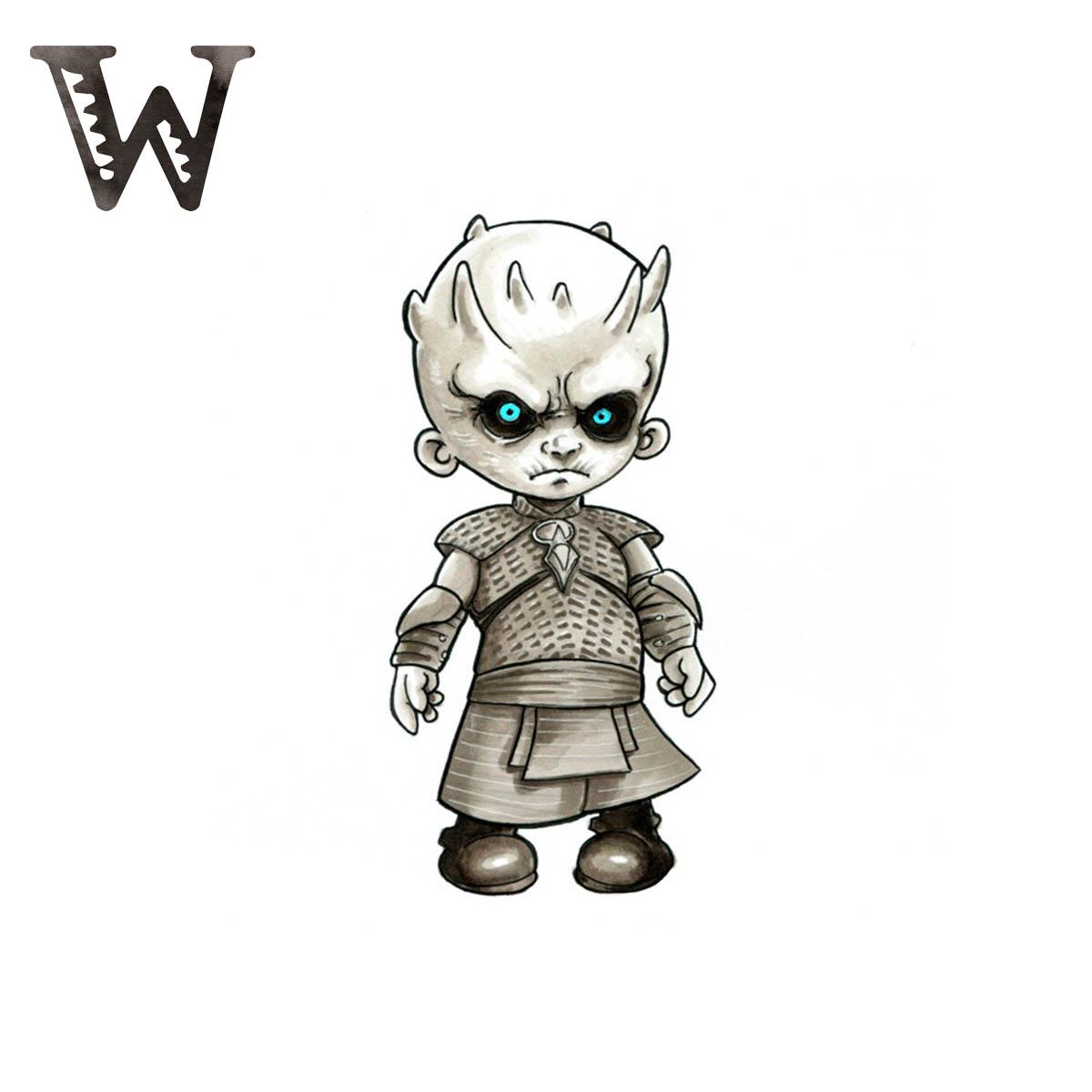 White Walker GOT Caminante blanco juego de tronos