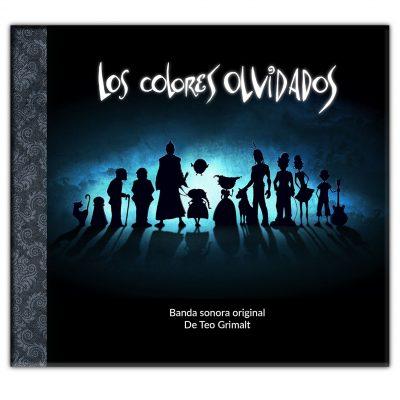 Banda sonora original de libro los colores olvidados riley, chewwang, imaginando otros mundos