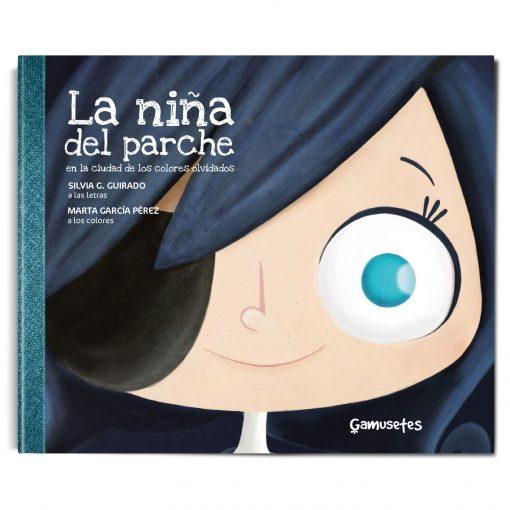 Carmesina la niña del parche libro infantil ojo vago mundo gris coronavirus sociedad triste
