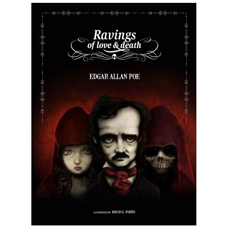 Edgar Allan Poe - Ravings of Love and Death - Cover