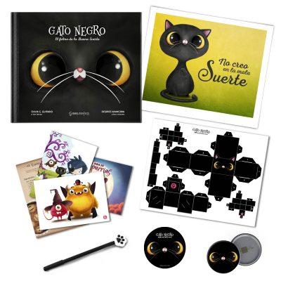 pack gato negro de coleccion