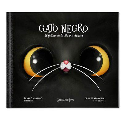Libro sobre gato negro y la mala buena suerte