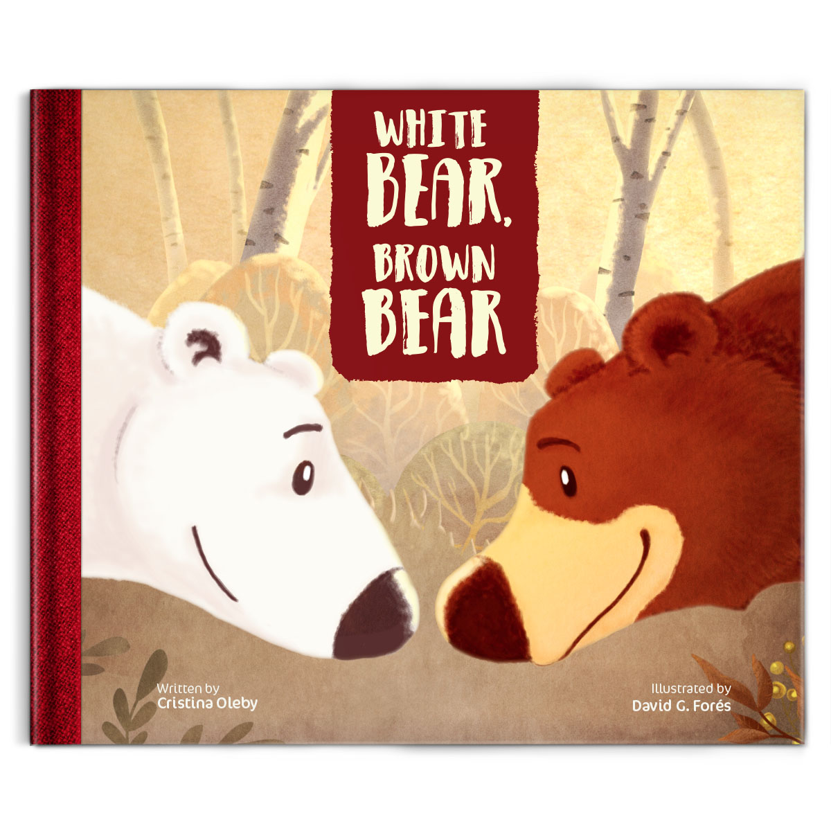 white bear brown bear children books illustrated