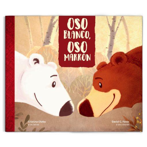 Oso blanco Oso marrón libro infantil ilustrados gamusetes
