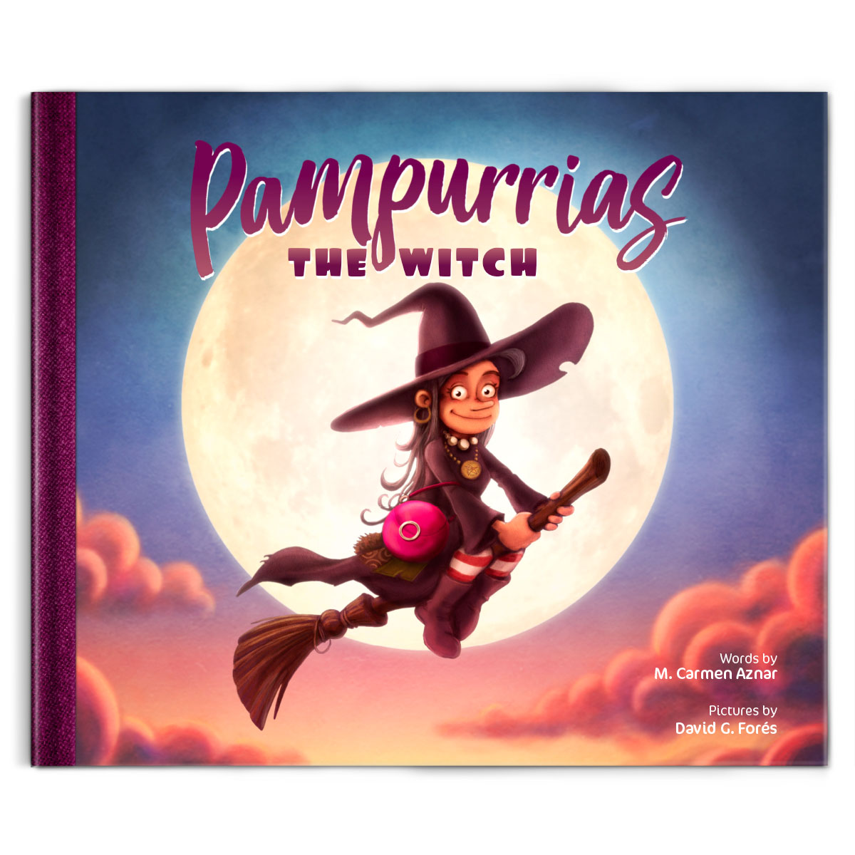 Pampurrias The Witch (Cuentos para aprender a INGLÉS)