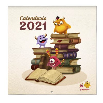 calendario de cuento ilustrado 2021
