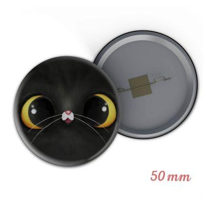 chapita gato negro
