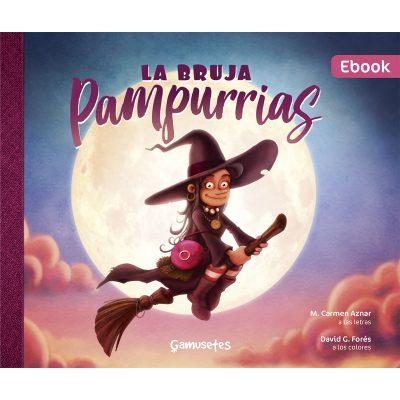 ebook pdf la bruja pampurrias cuento infantil ilustrado gamusinos