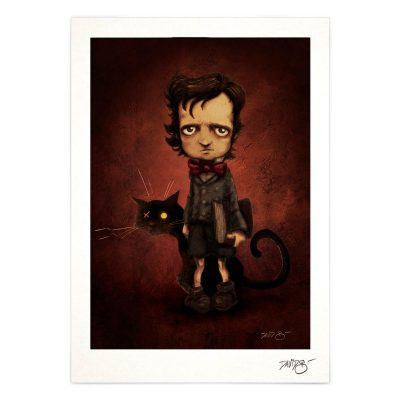 Edgar Allan Poe print
