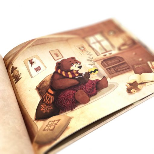 oso marron infantil