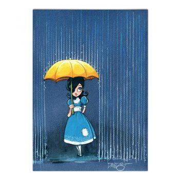 Postal lluvia
