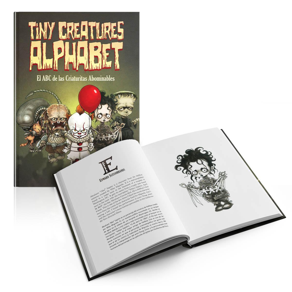 Tiny Creatures Alphabet. El ABC de las criaturas abominables