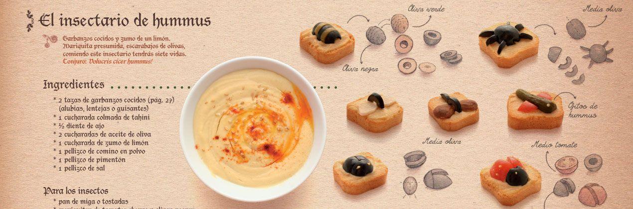 Insectario de humus para niños